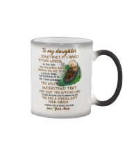 Sometimes It's Hard To Find Word To Tell You Otter Color Changing Mug tile
