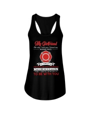 Firefighter Girlfriend You Complete Me Ladies Flowy Tank thumbnail