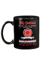 Firefighter Girlfriend You Complete Me Mug back