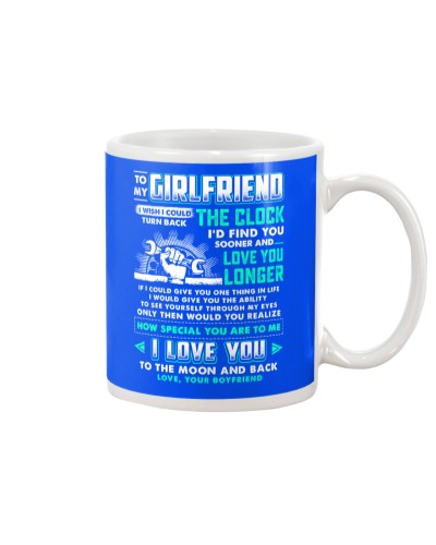 Mechanic Girlfriend Clock Ability Moon Mug
