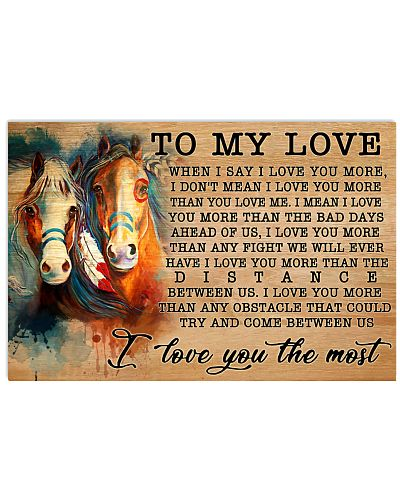 Horse I Love You More GG