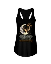 I Love You To The Moon And Back Ladies Flowy Tank thumbnail
