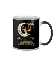 I Love You To The Moon And Back Color Changing Mug thumbnail