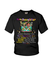 Hippie Daughter Mom Mommy Loves You Youth T-Shirt thumbnail