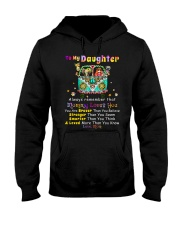 Hippie Daughter Mom Mommy Loves You Hooded Sweatshirt thumbnail