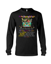Hippie Daughter Mom Mommy Loves You Long Sleeve Tee thumbnail