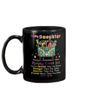 Hippie Daughter Mom Mommy Loves You Mug back