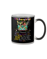 Hippie Daughter Mom Mommy Loves You Color Changing Mug thumbnail