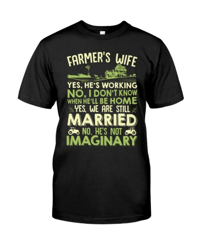 Farmer's Wife No He's Not Imaginary