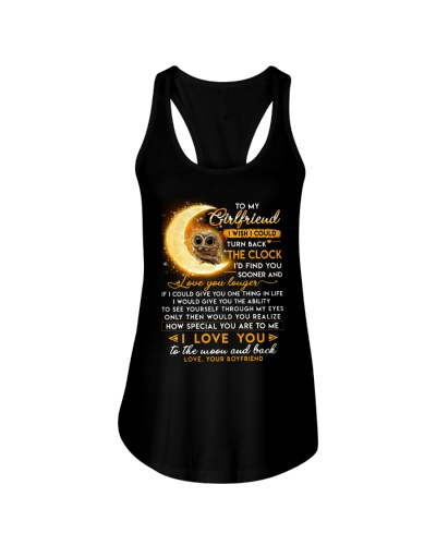Owl Girlfriend Clock Ability Moon