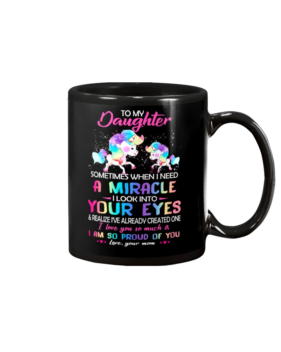 Sometimes When I Need A Miracle Mug