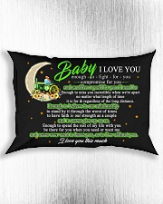 Baby I Love You Enough To Fight For You Farmer Rectangular Pillowcase aos-pillow-rectangle-front-lifestyle-4