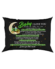 Baby I Love You Enough To Fight For You Farmer Rectangular Pillowcase front