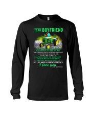 Farmer Boyfriend Love Made Us Forever Together  Long Sleeve Tee thumbnail