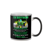 Farmer Boyfriend Love Made Us Forever Together  Color Changing Mug thumbnail