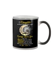 Weimaraner Daughter Dad Daddy Loves You Color Changing Mug thumbnail
