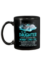 Daughter Remember Mommy Loves You Dolphin Mug back