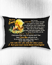 Just To Say I Love You Chicken Rectangular Pillowcase aos-pillow-rectangle-front-lifestyle-4