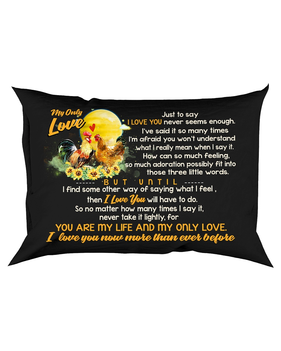 Just To Say I Love You Chicken Rectangular Pillowcase