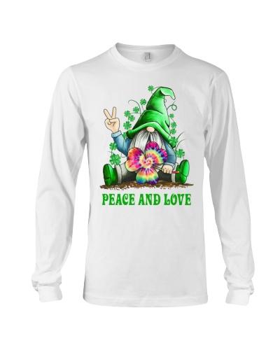 Irish Peace And Love Shirt CC
