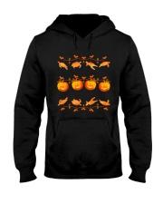Turtle and Pumpkin Halloween Turtle Hooded Sweatshirt thumbnail