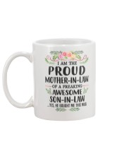 Proud Mother In Law Family Mug back