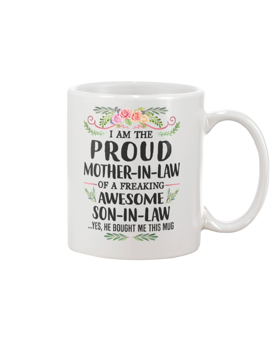 Proud Mother In Law Family Mug