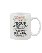Proud Mother In Law Family Mug front