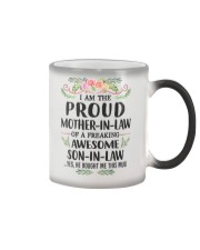 Proud Mother In Law Family Color Changing Mug thumbnail