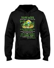 I Want Us To Grow Old Together Farmer Hooded Sweatshirt thumbnail