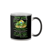I Want Us To Grow Old Together Farmer Color Changing Mug thumbnail
