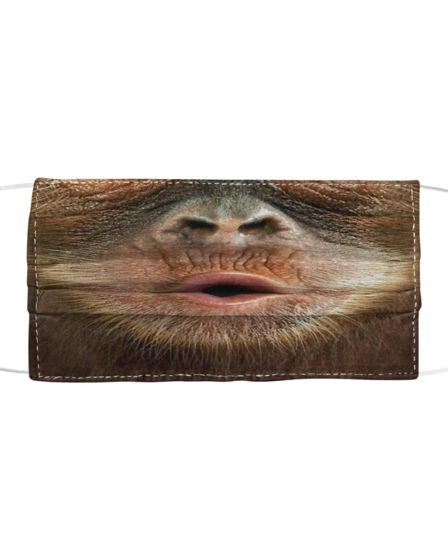 3D Monkey Cloth face mask
