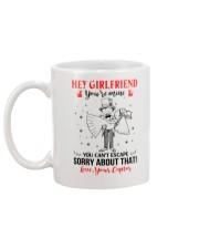 Girfriend You Can't Escape Mug CC Mug back