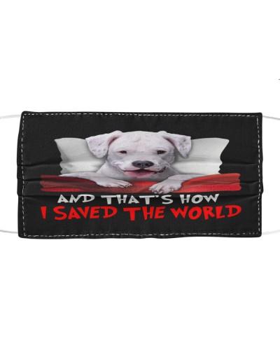 Dog Dogo Argentino How I Saved The World