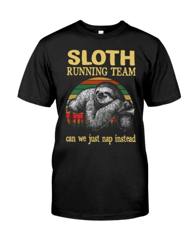 Sloth Running Team Can We Just Nap Instead