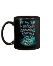 I Can Not Live Without You Turtle  Mug back
