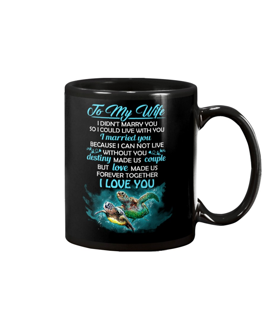 I Can Not Live Without You Turtle  Mug