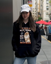 Nothings Beats Being A Mother Wolf Hooded Sweatshirt lifestyle-unisex-hoodie-front-5