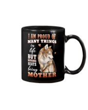 Nothings Beats Being A Mother Wolf Mug thumbnail