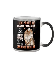 Nothings Beats Being A Mother Wolf Color Changing Mug thumbnail