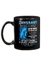 Wolf Gave My Heart To You Husband Mug back