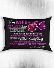 Good Night Sleep Tight Rectangular Pillowcase aos-pillow-rectangle-front-lifestyle-4