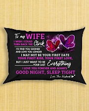 Good Night Sleep Tight Rectangular Pillowcase aos-pillow-rectangle-front-lifestyle-6