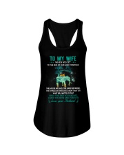 When We Get To The End Elephant  Ladies Flowy Tank thumbnail