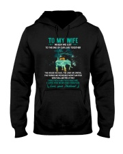 When We Get To The End Elephant  Hooded Sweatshirt thumbnail