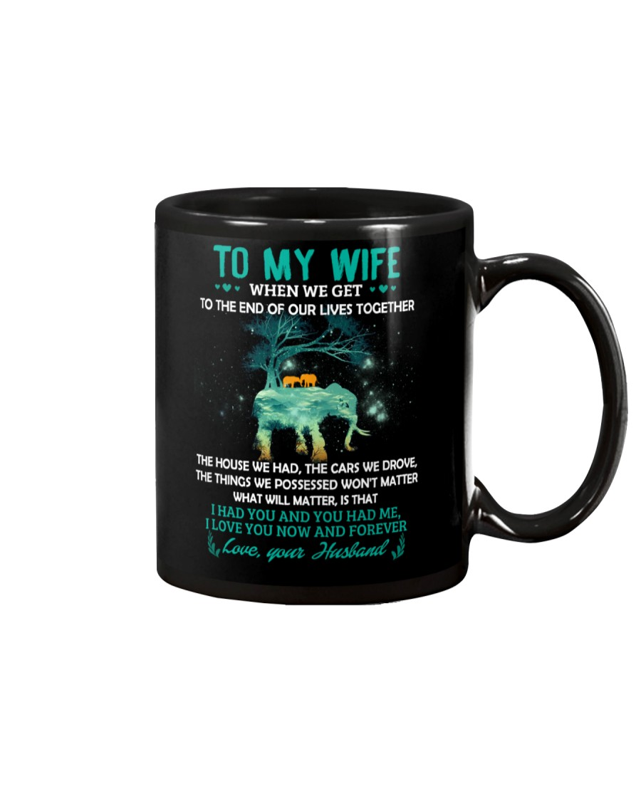 When We Get To The End Elephant  Mug