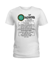 By Your Side Daughter Viking  Ladies T-Shirt tile