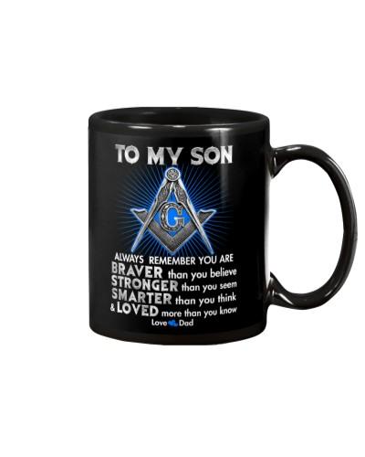 FREEMASON SON DAD ALWAYS REMEMBER