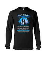 Family Wife beautiful inside and out Long Sleeve Tee thumbnail