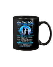 Family Wife beautiful inside and out Mug front